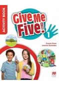 Give Me Five! 1 Activity Book + kod MACMILLAN