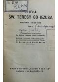 Dzieła Św Teresy od Jezusa Tom 1  1939 r