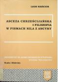 Asceza chrześcijańska i filozofia w pismach Nila z Ancyry