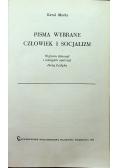 Marks Pisma wybrane Człowiek i socjalizm