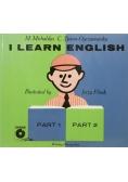 I learn English