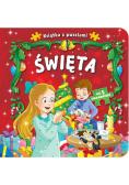 Książka z puzzlami Święta