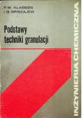 Podstawy techniki granulacji