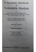 A Systematic Handbook of Volumetric Analysis