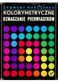 Kolorymetryczne oznaczanie pierwiastków