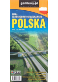 Mapa samochodowa - Polska 1:650 000