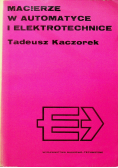 Macierze w automatyce i elektrotechnice