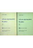 Atlas językowy śląska tom V część I i II