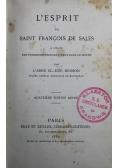 L Esprit de Saint Francois de Sales 1882 r.