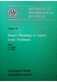 Sensory Physiology of Aquatic Lower Vertebrates