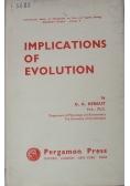 Implications of evolution