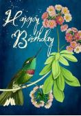 Karnet B6 z kopertą Urodziny Koliber