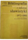 Bibliografia polskich prac z zakresu slawistyki