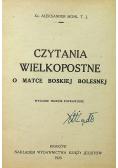 Czytania wielkopostne 1923r