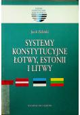 Systemy konstytucyjne Łotwy Estonii i Litwy