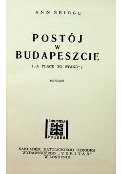 Postój w Budapeszcie