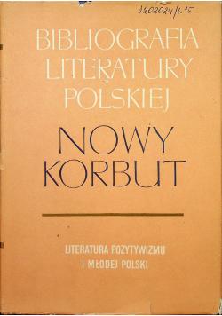 Bibliografia literatury polskiej Nowy Korbut