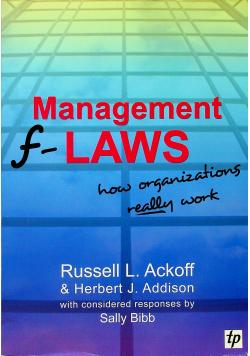 Management f Laws