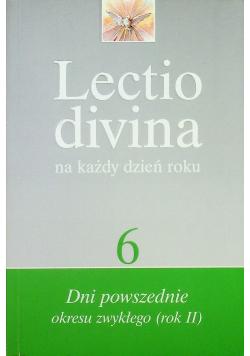 Lectio divina 6