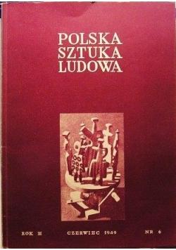 Polska sztuka ludowa nr 6 1949 r