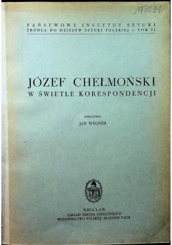 Józef Chełmoński w świetle Korespondencji
