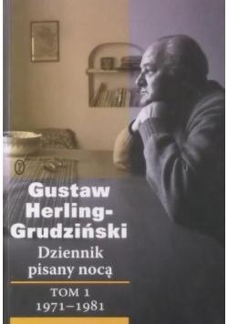 Dziennik pisany nocą tom I 1971  1981