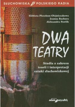 Dwa teatry. Studia z zakresu teorii...