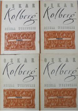 Kolberg Dzieła Wszystkie 4 tomy