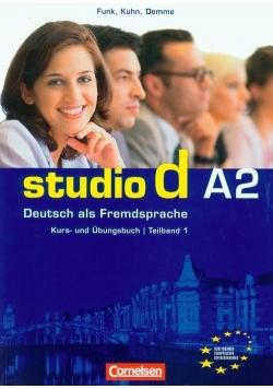 Studio d A2 Teilband 1 Kurs und Ubungsbuch Podręcznik z ćwiczeniami