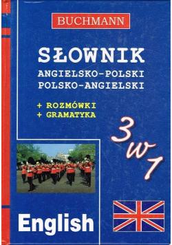 Słownik angielsko polski polsko  angielski 3 w 1