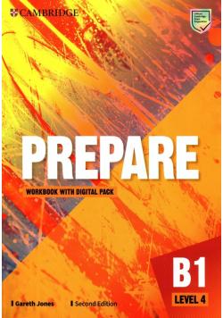 Prepare Level 4 Workbook with Digital Pack