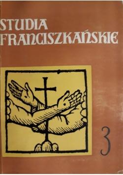 Studia Franciszkańskie 3
