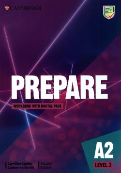 Prepare Level 2 Workbook with Digital Pack