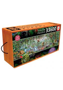 Puzzle 33600 Dzika przyroda G3