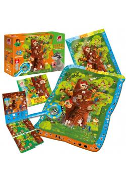 Puzzle edukacyjne Detective - Forest Story