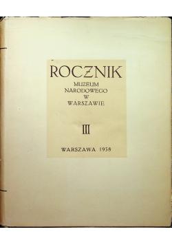 Rocznik Muzeum Narodowego w Warszawie III