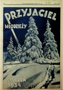 Przyjaciel Młodzieży Nr 1 do 12 1934 r.