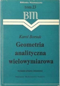 Geometria analityczna wielowymiarowa