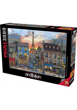 Puzzle 3000 Ulice Paryża