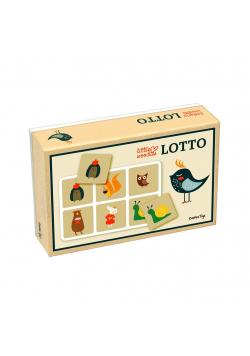 Lotto Gra Planszowa dla Dzieci Little Woodies