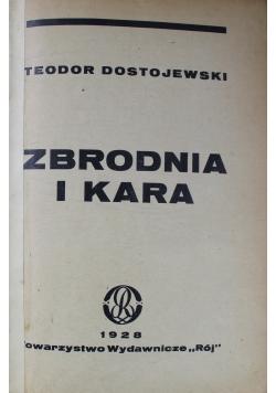 Zbrodnia i Kara 1928 r