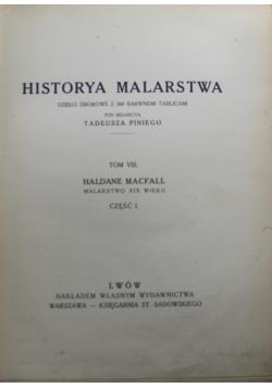 Historya Malarstwa Tom VIII 1913 r.