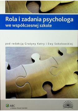 Rola i zadania psychologa we współczesnej szkole