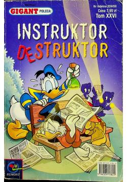 Instruktor destruktor Tom XXVI