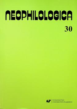 Neophilologica 30