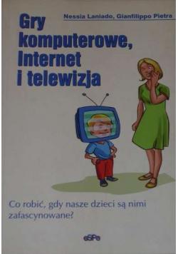 Gry komputerowe Internet i telewizja