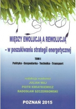Między ewolucją a rewolucją  w poszukiwaniu strategii energetycznej Tom 1