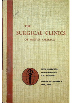 The surgical clinics of North America nr 2