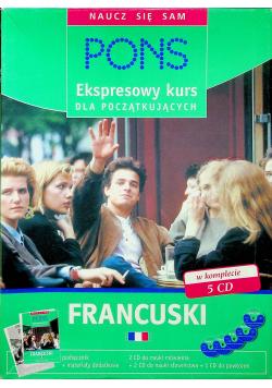 Ekspresowy kurs Francuski  plus 5 Płyt CD