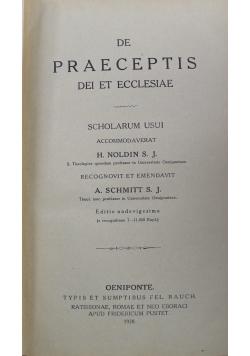 De Praeceptis dei et Ecclesiae 1928 r.